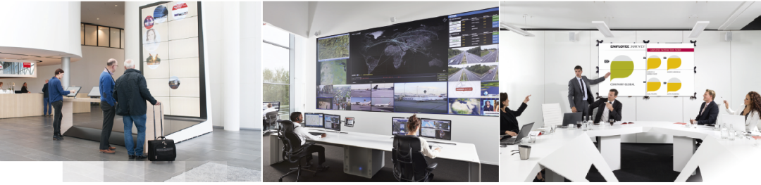 Barco UniSee®, Revolutionizing the LCD Video Wall Experience